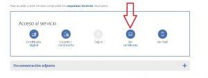 Pedir el informe de vida laboral sin certificado digital