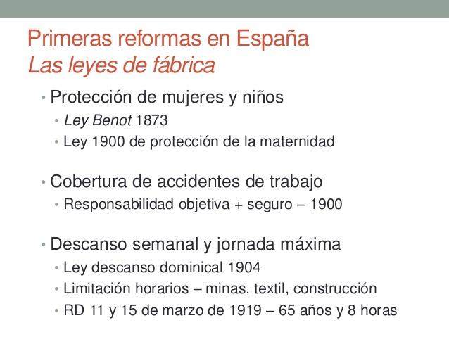 Leyes Laborales En España
