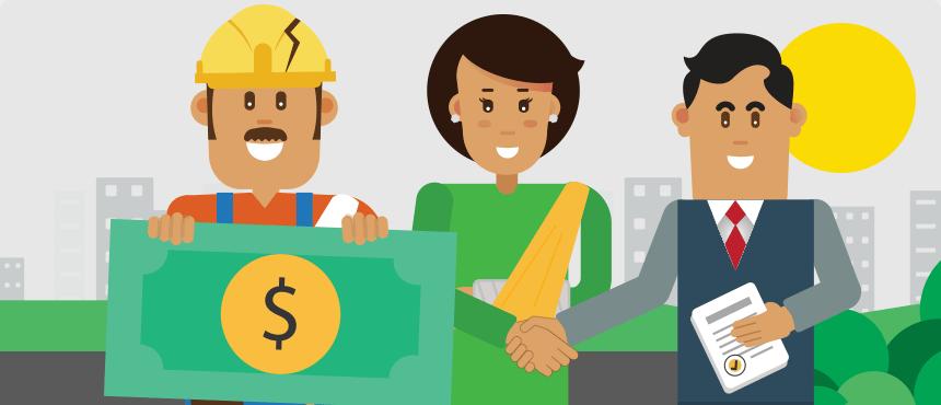 accidentes laborales pago